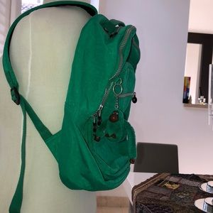 862581b77b Kipling Bags | Forrest Green Large Backpack | Poshmark